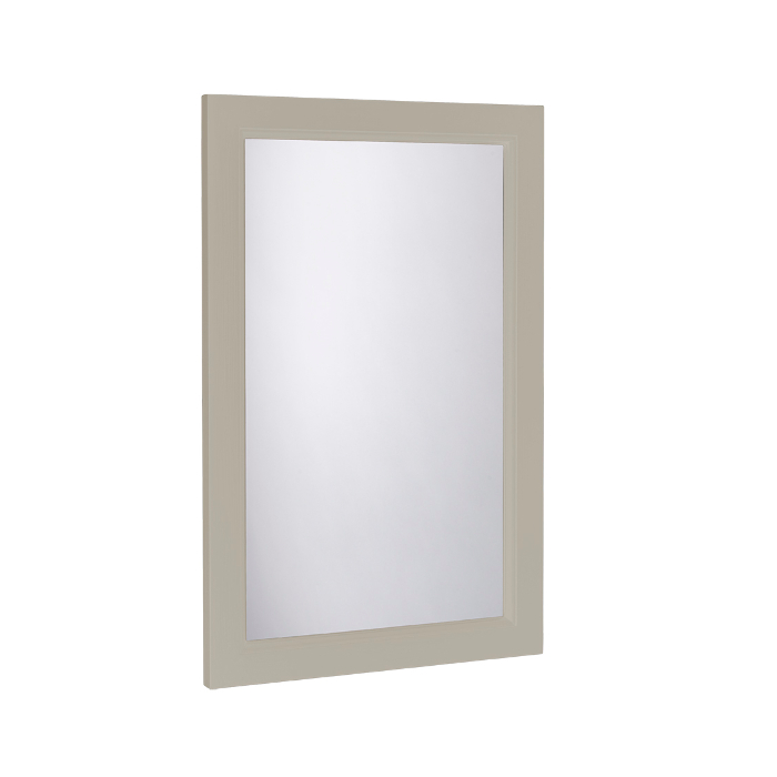 Hampton Vanity Mirror 450 x 700mm Framed In Mocha