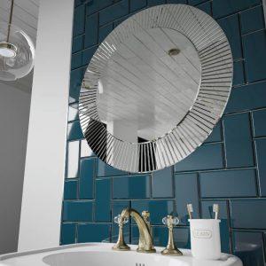 HiB Arte Decorative Round Mirror 600 or 800mm