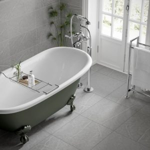 Rico Grey Wall & Floor Bathroom Tiles 500 x 500mm Per Box