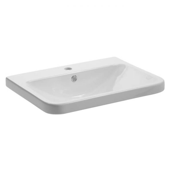 Sol 600mm Floor Standing Vanity Unit & Basin Top Overview