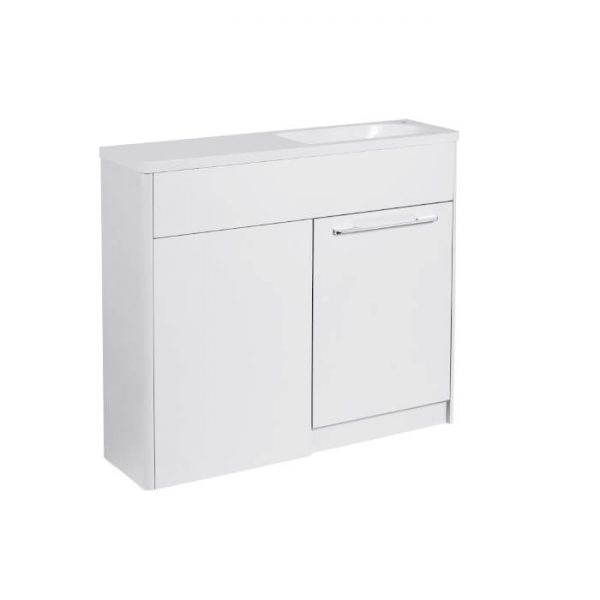 Sol Combination Vanity Unit & WC Unit 1000mm Wide In Three Colours