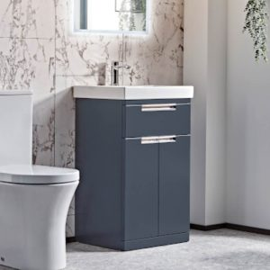 ESP 500mm Floor Standing Vanity Unit & Basin In Four Colours
