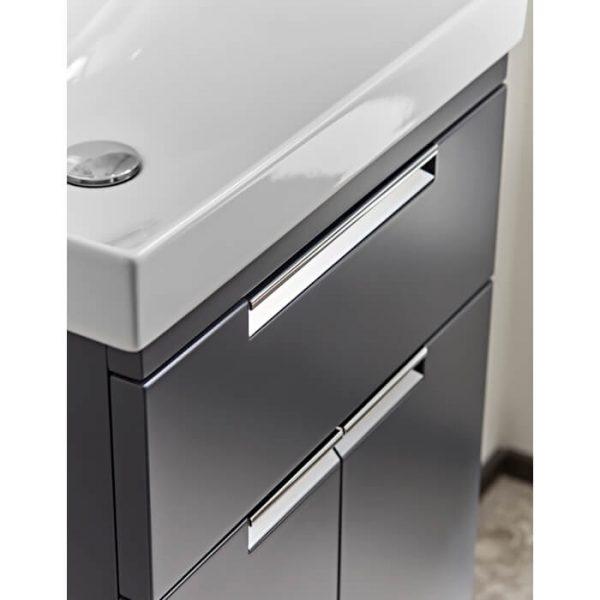 ESP 500mm Floor Standing Vanity Unit & Basin In Four Colours