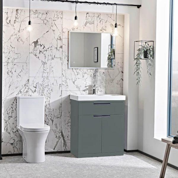 ESP 700mm Floor Standing Vanity Unit & Basin In Four Colours
