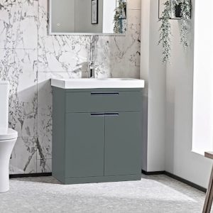 ESP 700mm Floor Standing Vanity Unit & Basin In Four Colours