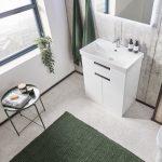 ESP 700mm Floor Standing Vanity Unit & Basin white lifestyle