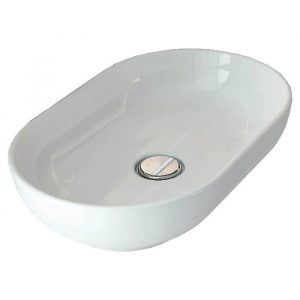 Honey Oval Vessel Counter Top Bowl 350x550mm