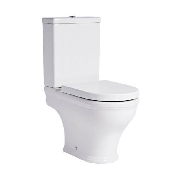 Islington Rimless Close Coupled Toilet & Soft Close Seat