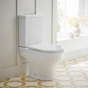 Islington Rimless Close Coupled Toilet & Soft Close Seat