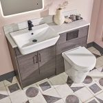New Era Rimless Comfort Height Back To Wall Toilet & Soft Closing Seat Lifestyle