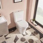 New Era Rimless Comfort Height Fully Back To Wall Toilet & Soft Close Seat lifestyle2