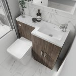 Serena Mini L-Shaped Combination Vanity & WC Unit 920 In Three Colours bodega