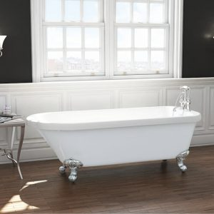 Cambridge Single Ended Freestanding Bath 1780x800mm