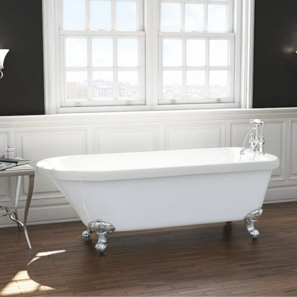 Cambridge Single Ended Freestanding Bath 1780x800mm