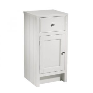 Hampton 400mm Door & Draw Storage Unit In Slate Grey Or White