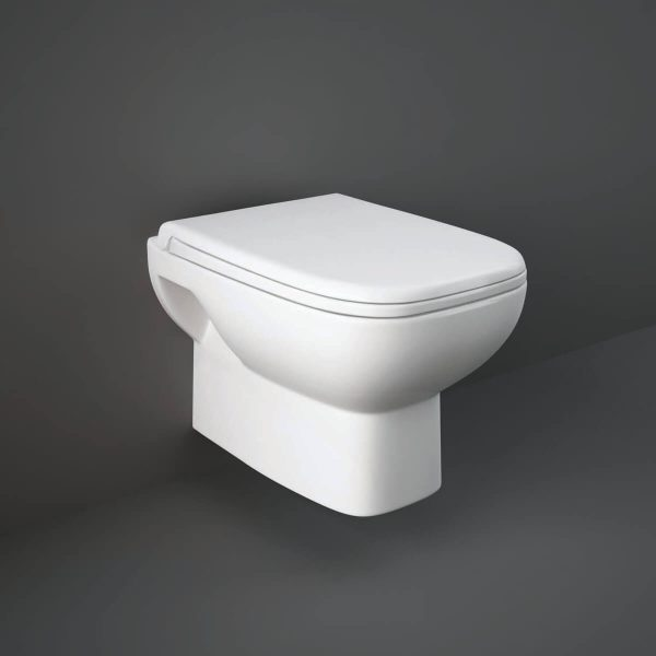 Orlando Wall Hung Toilet & Soft Close Seat