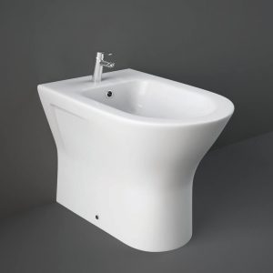 Resolve Back To Wall Modern Bidet 1 Tap Hole
