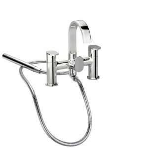 Blade Bath Shower Mixer Tap in Chrome