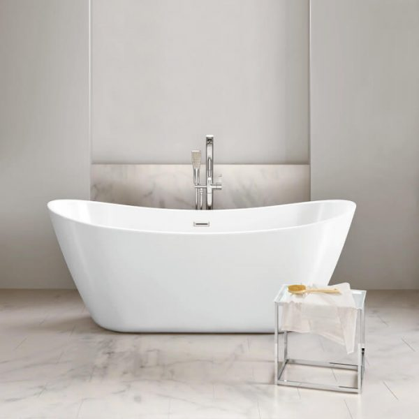 Blade Freestanding Bath Double Ended 1800x800mm