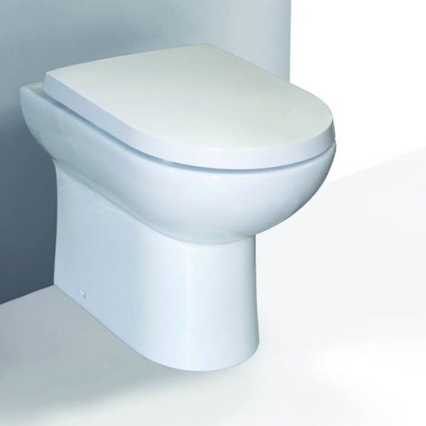 Eden Back To Wall Wc Toilet & Soft Closing Seat