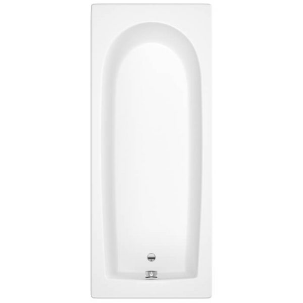 Exeter Single Ended 5mm Bath 1700 x 750mm In White