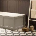 Hampton Wooden Bath End Panel 685mm In Six Colours