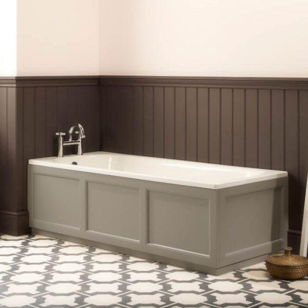 Hampton Wooden Bath Panel 1695 mm In Six Colours