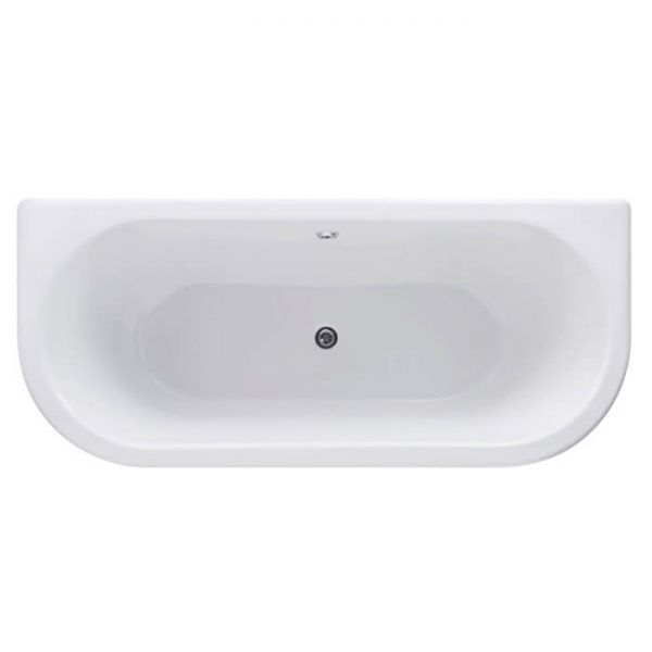 Kizzie Back To Wall Freestanding Double Ended Bath 1800x840mm
