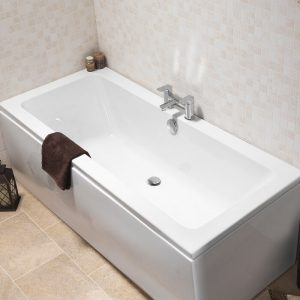 Lance Bath Double Ended 5mm 1700 x 700mm In White