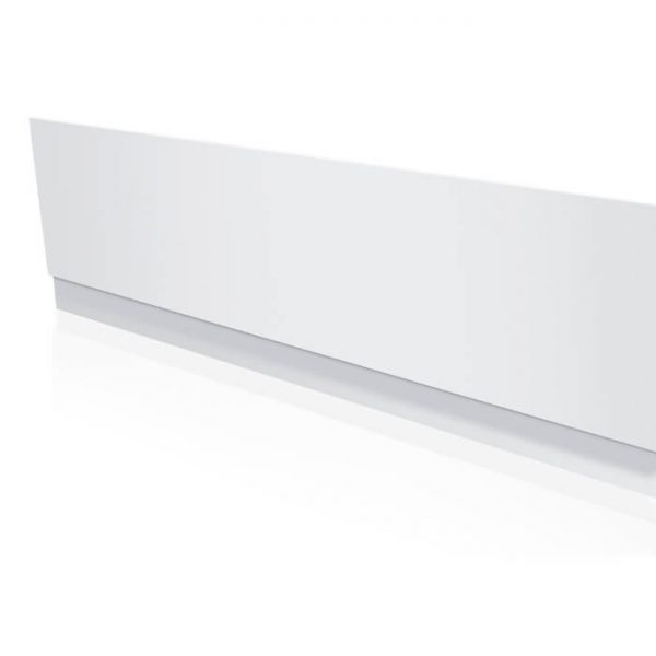 Lite PVC Bath Panel Front 1700 Or 1800 In Gloss White