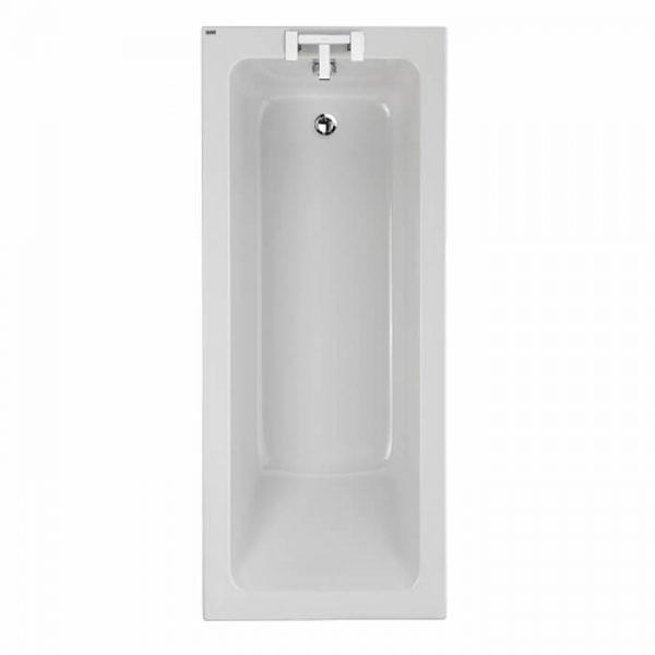 Twyford Single Ended 5mm Bath 1700 x 700mm In White