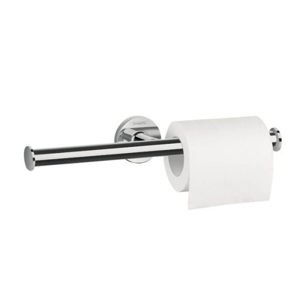 Hansgrohe Double Toilet Roll Holder in Chrome