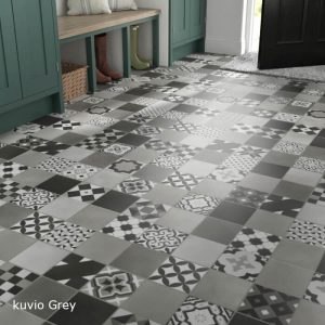 Malmo Luxury Vinyl Stick Down Flooring Feature Tile