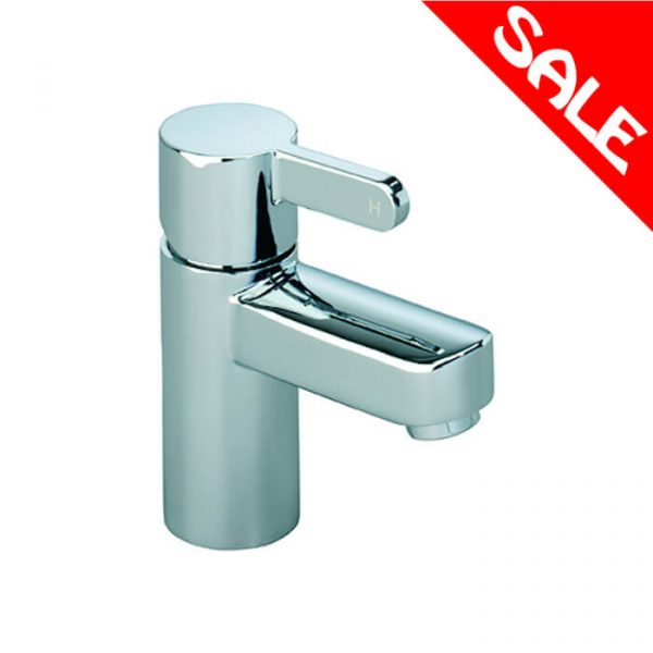Insight Basin Mini Mono Mixer Tap & Waste In Chrome