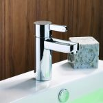 Insight Basin Mini Mono Mixer Tap Including Pop Up Waste In Chrome Lifestyl