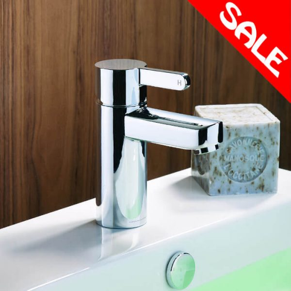 Insight Basin Mini Mono Mixer Tap Including Pop Up Waste In Chrome