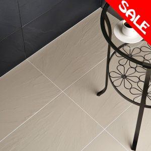 Rak Porcelain Slate Wall & Floor Tiles 300X600 (Box of 6) In Black or White
