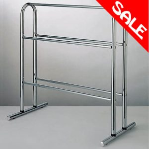 Roper Rhodes Berkeley Freestanding Towel Stand In Chrome