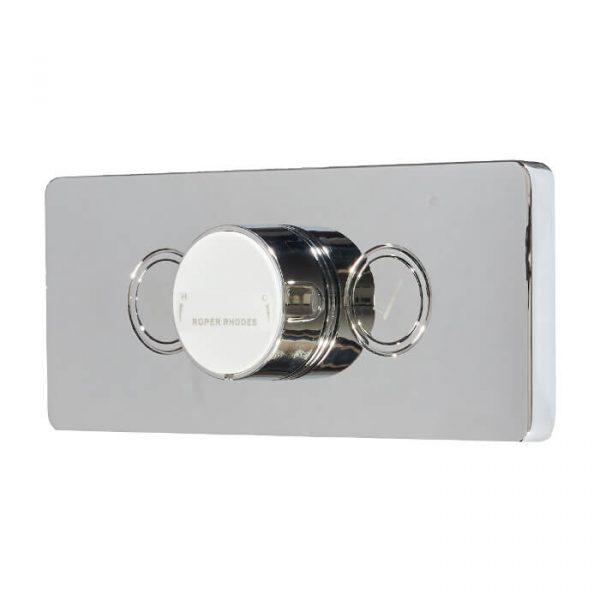 Event Click Shower System Concealed Shower Valve, Fixed Head & Riser Kit
