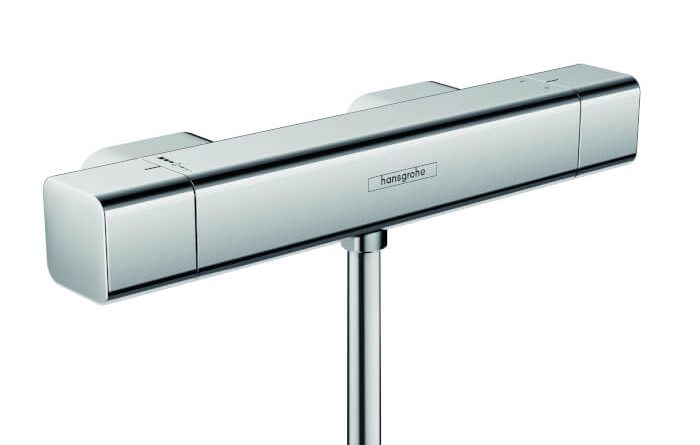 Hansgrohe Ecostat Square HP Thermostatic Mixer Shower Valve