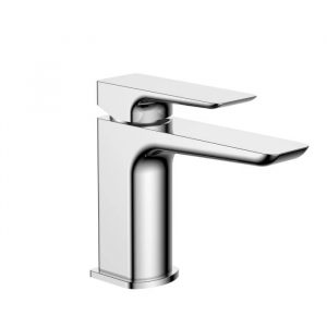 Jersey Basin Monobloc Mixer Tap With Waste In Chrome