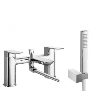 Jersey Bath Shower Mixer Tap In Chrome