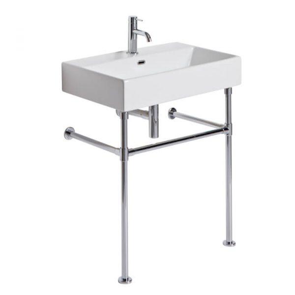 Hampton 700mm Chrome Washstand & Basin