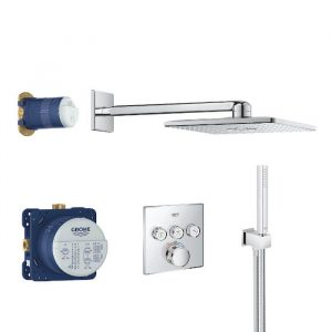 Grohe Grohtherm Smart Control Concealed Square Pack