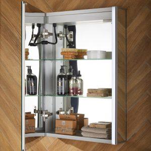 Cove Bluetooth LED Illuminated Mirror Cabinet 500 x 700mm