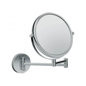 Hansgrohe Double Sided Shaving & Make up Mirror In Chrome