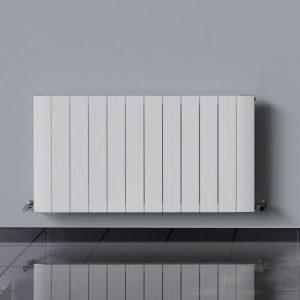 Lumina Single Panel Horizontal Radiator 600 High In White Gloss Or Anthracite