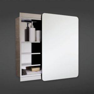Resolve Sliding Mirrored Cabinet 460 x 660mm