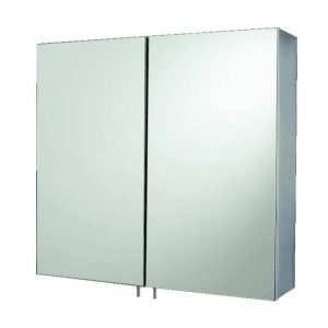 SPH Double Mirrored Stainless Steel Cabinet 600 x 550mm