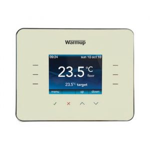 Warmup 3IE Programmable Thermostat In Classic Cream